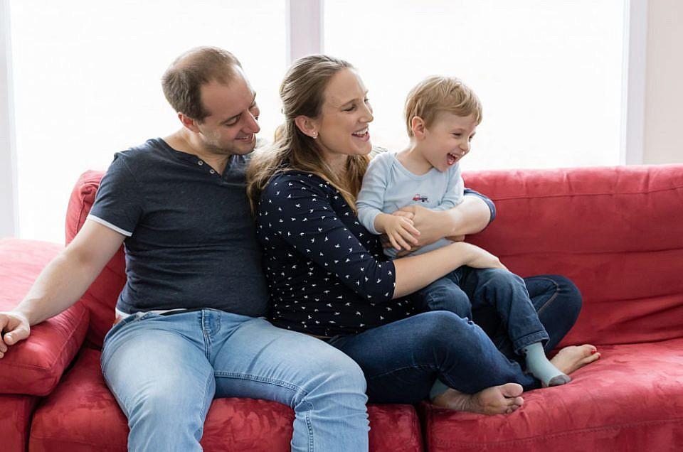 Photo de famille à domicile à metz