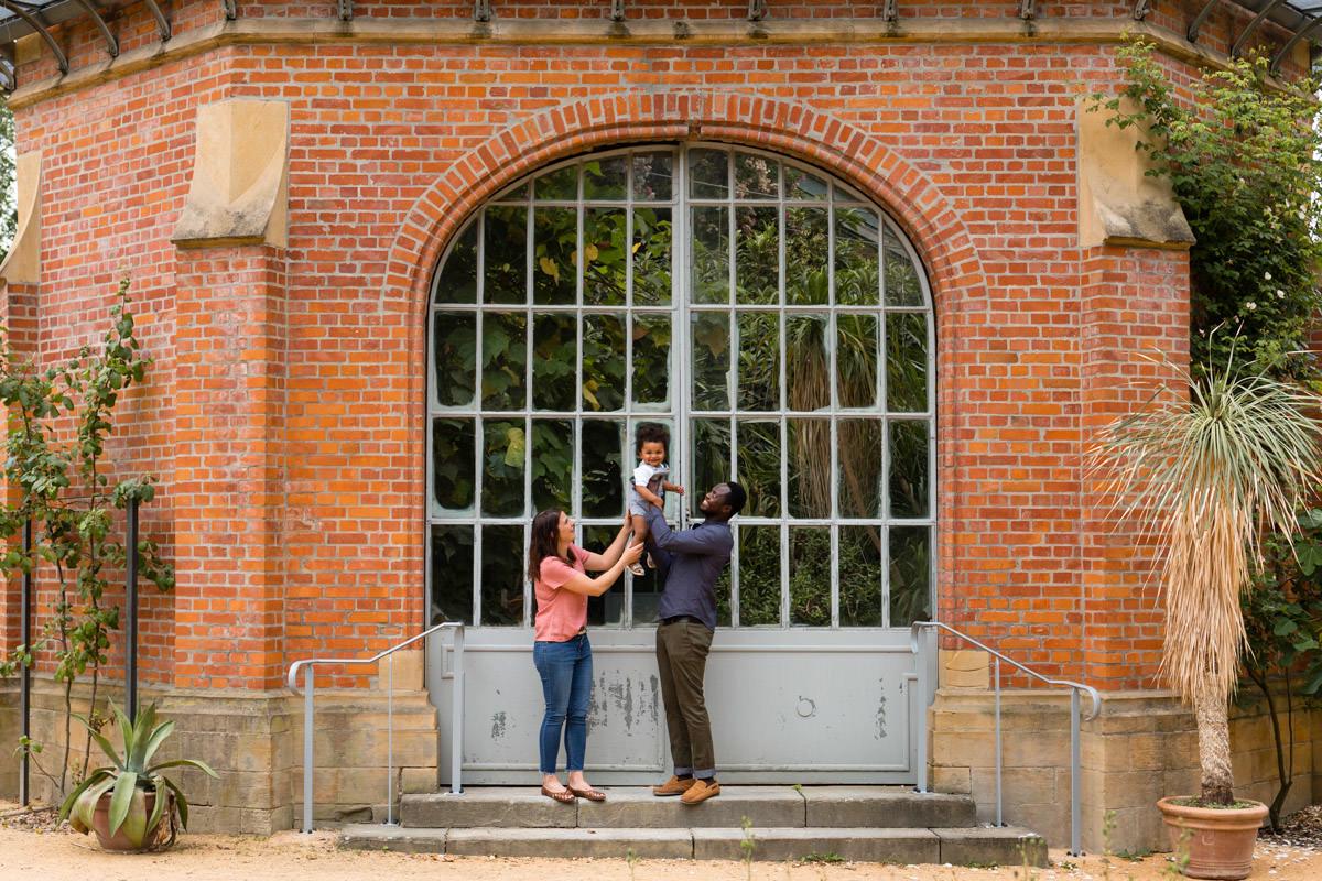 seance photo famille au jardin botanique de metz