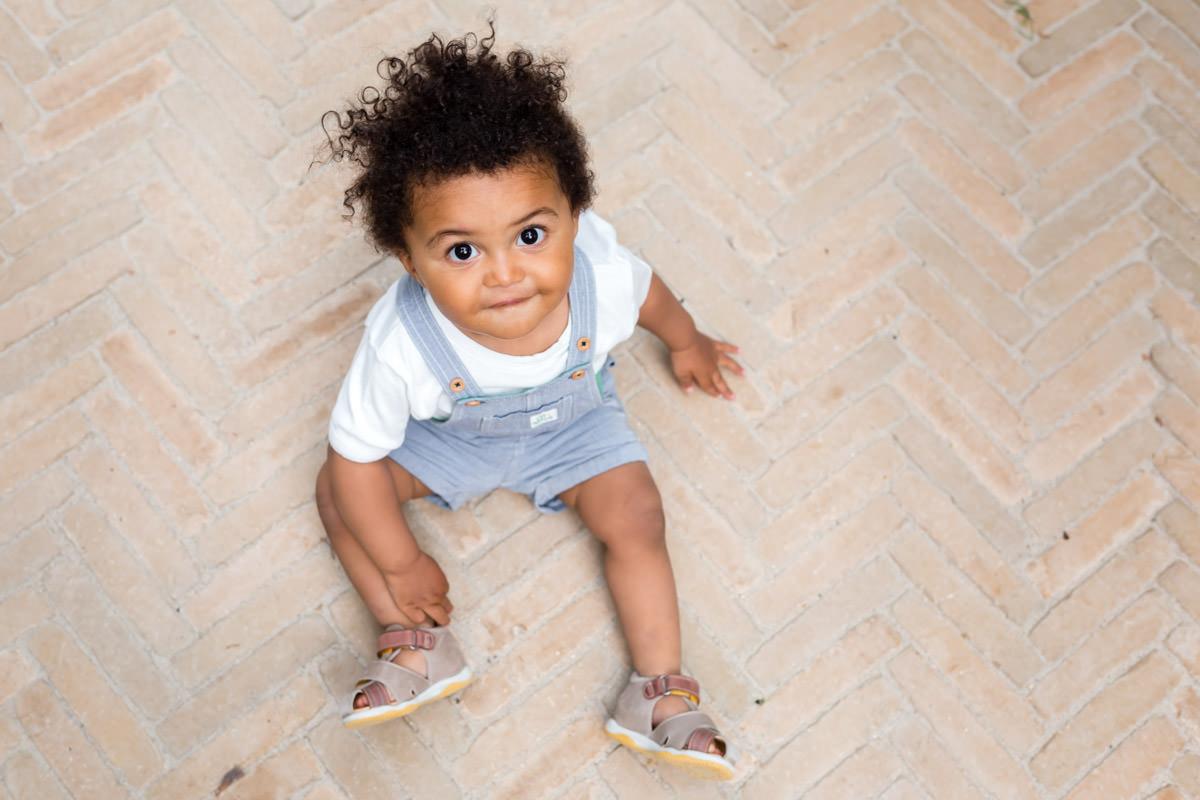 améliorer ses photos d'enfant : exemple de portrait de petit garçon