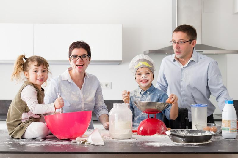 photo de famille drôle