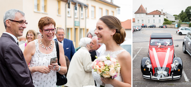 Photographe de mariage à Moselle