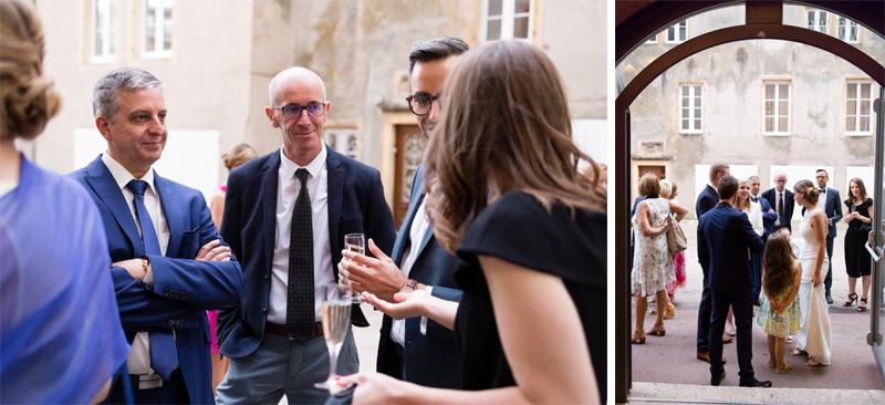 Photographe mariage Metz Château Fabert