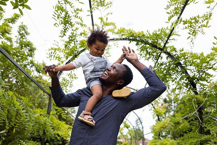portrait père et fils