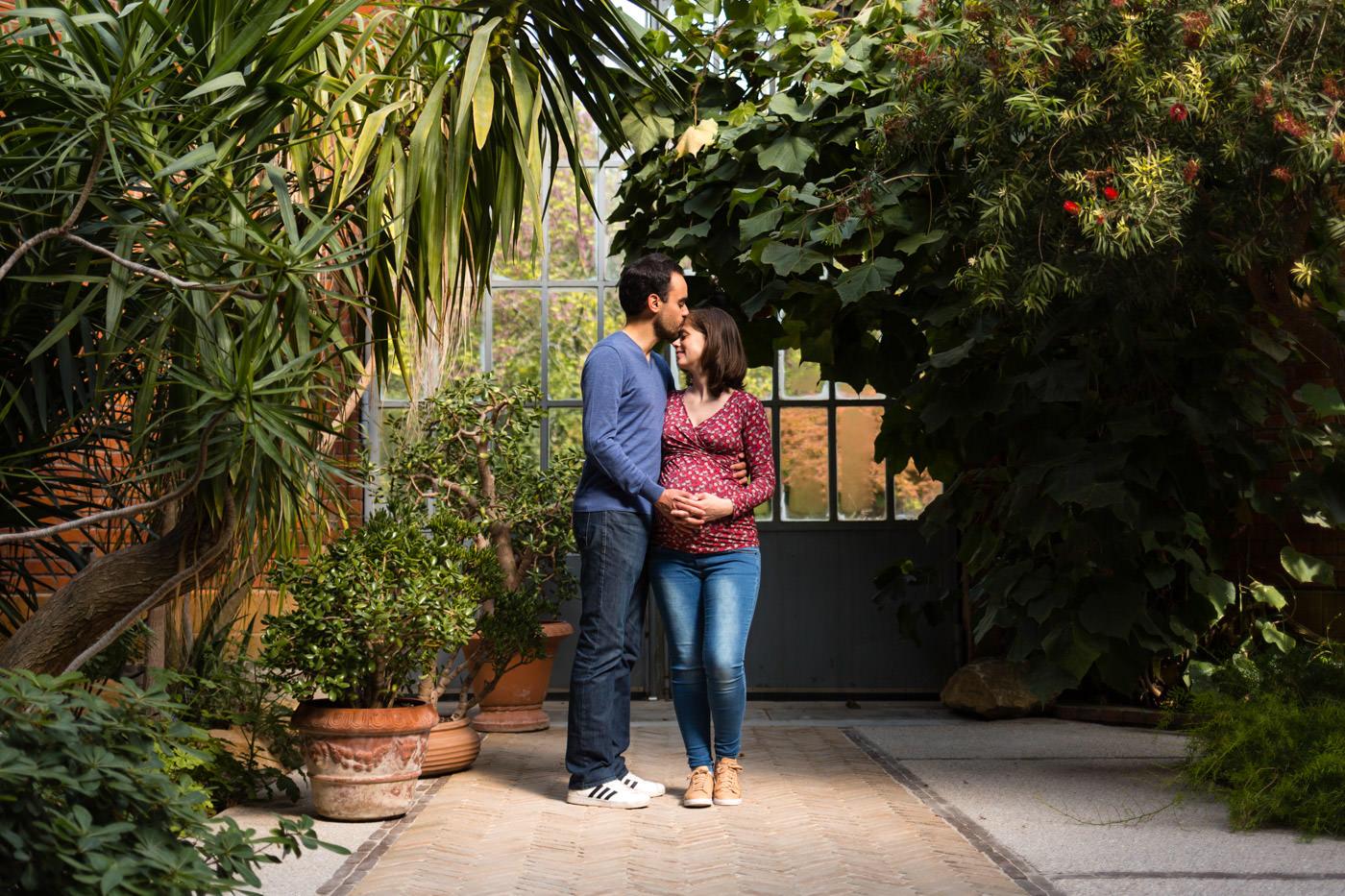 seance photo de grossesse au botanique
