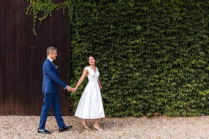 photo de mariage naturelle