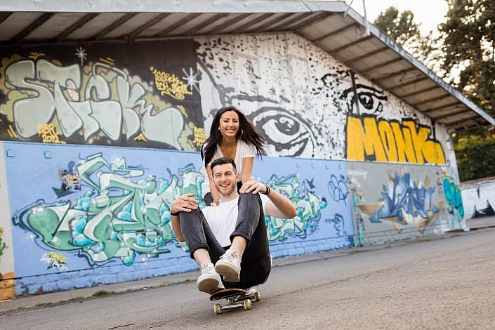 seance photo couple fun