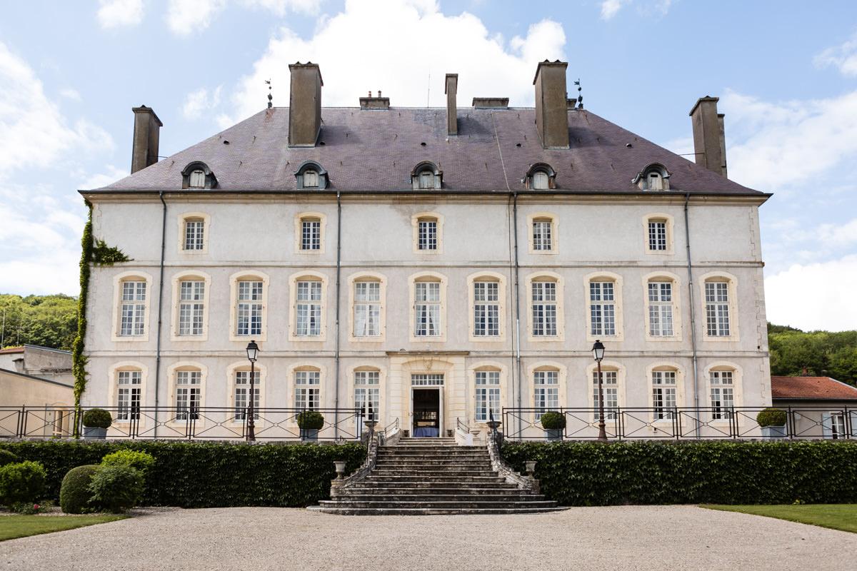 Chateau de Vandéléville mariage