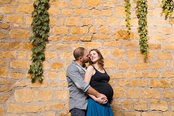 photo de grossesse en couple