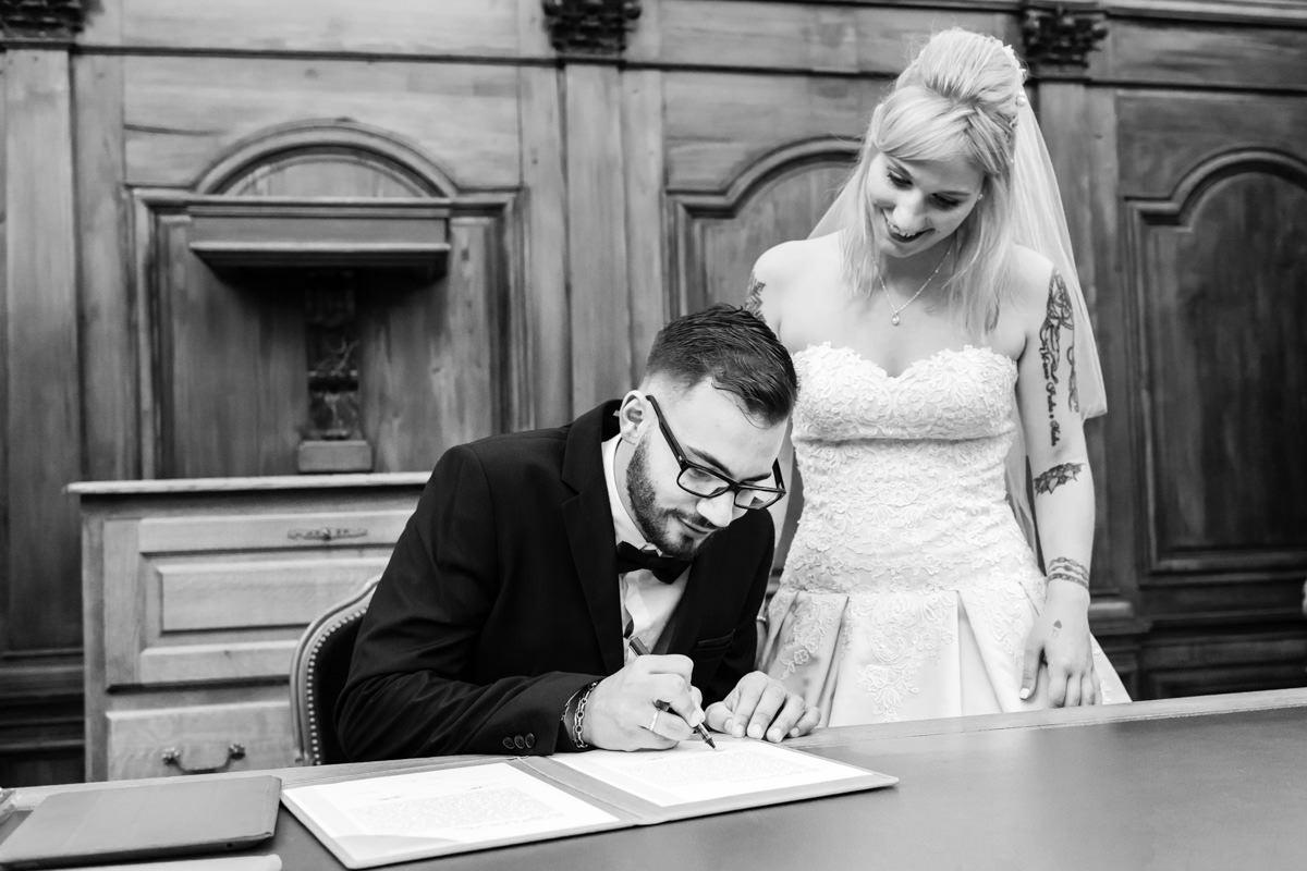 signature mariage civil