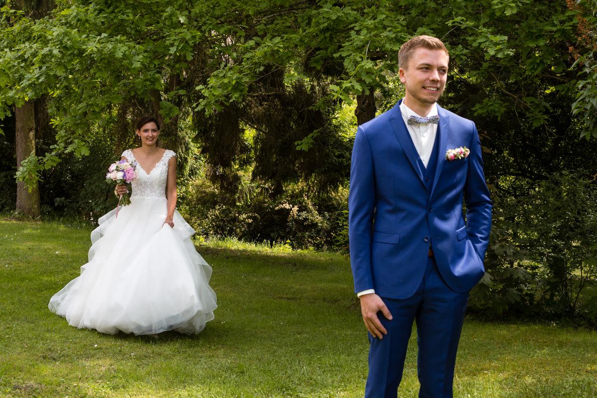 découverte des futurs mariés