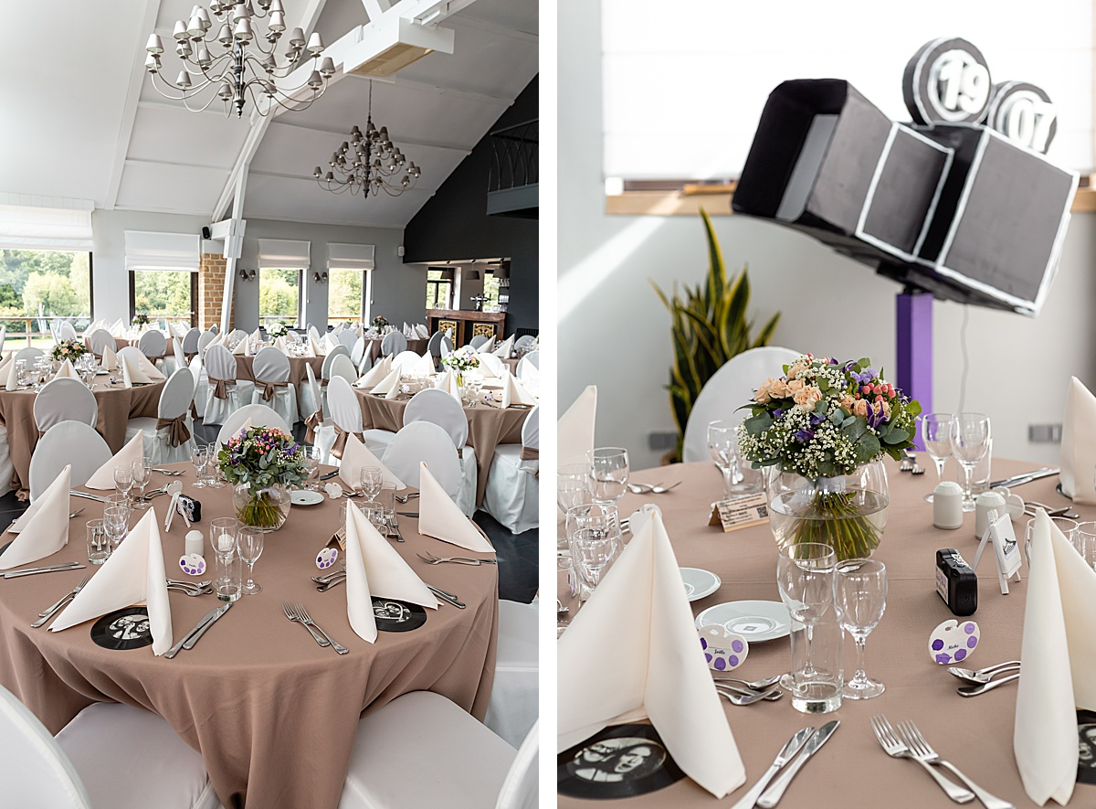 décoration mariage val du Scherbach