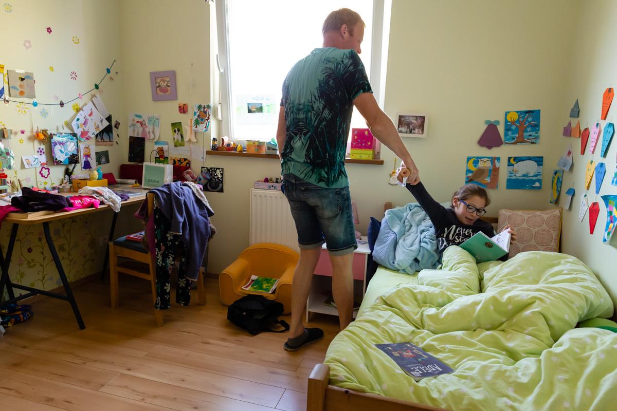 Photographe documentaire de famille à domicile à Metz