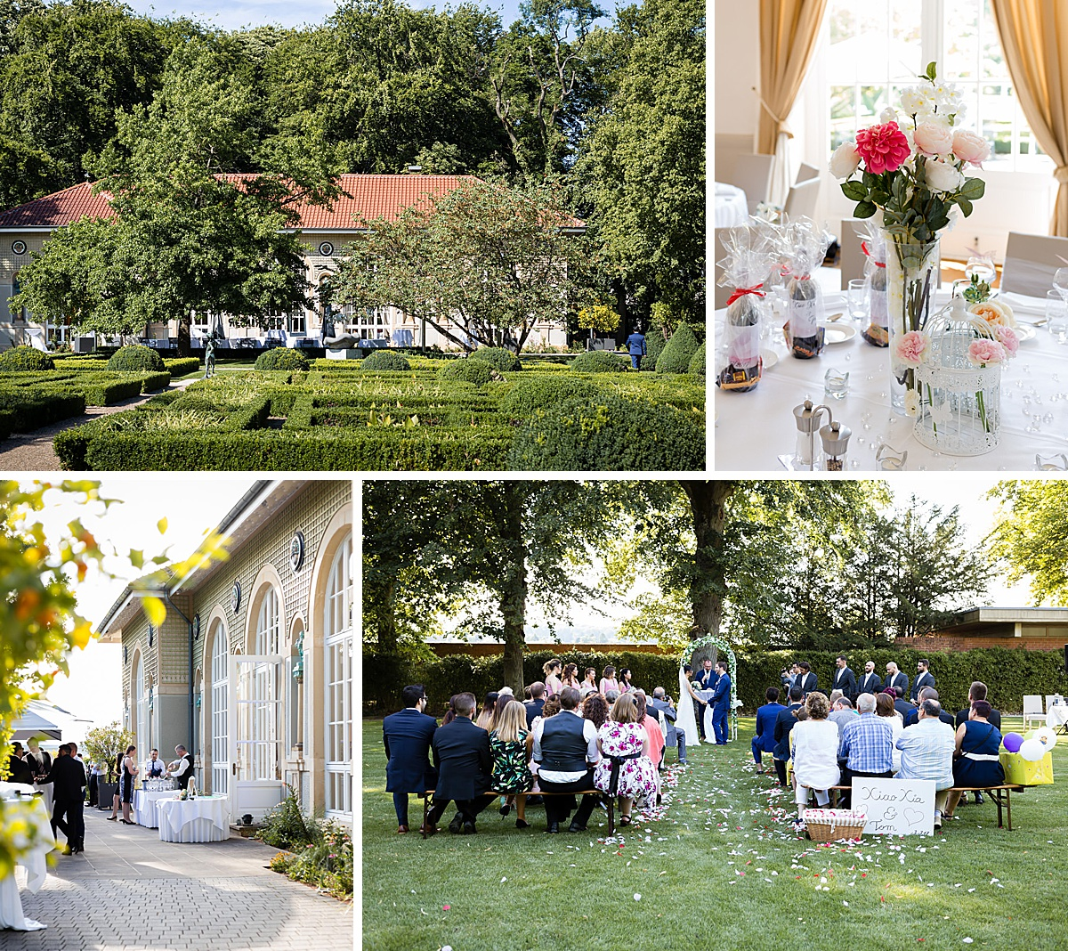 photo mariage orangerie Mondorf-les-Bains Luxembourg