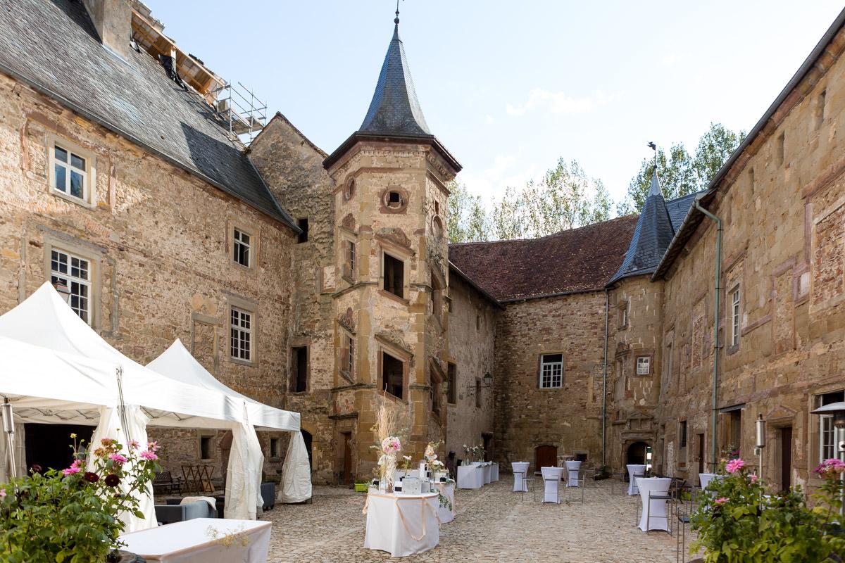 Lieu Mariage Moselle Chateau Saint Sixte