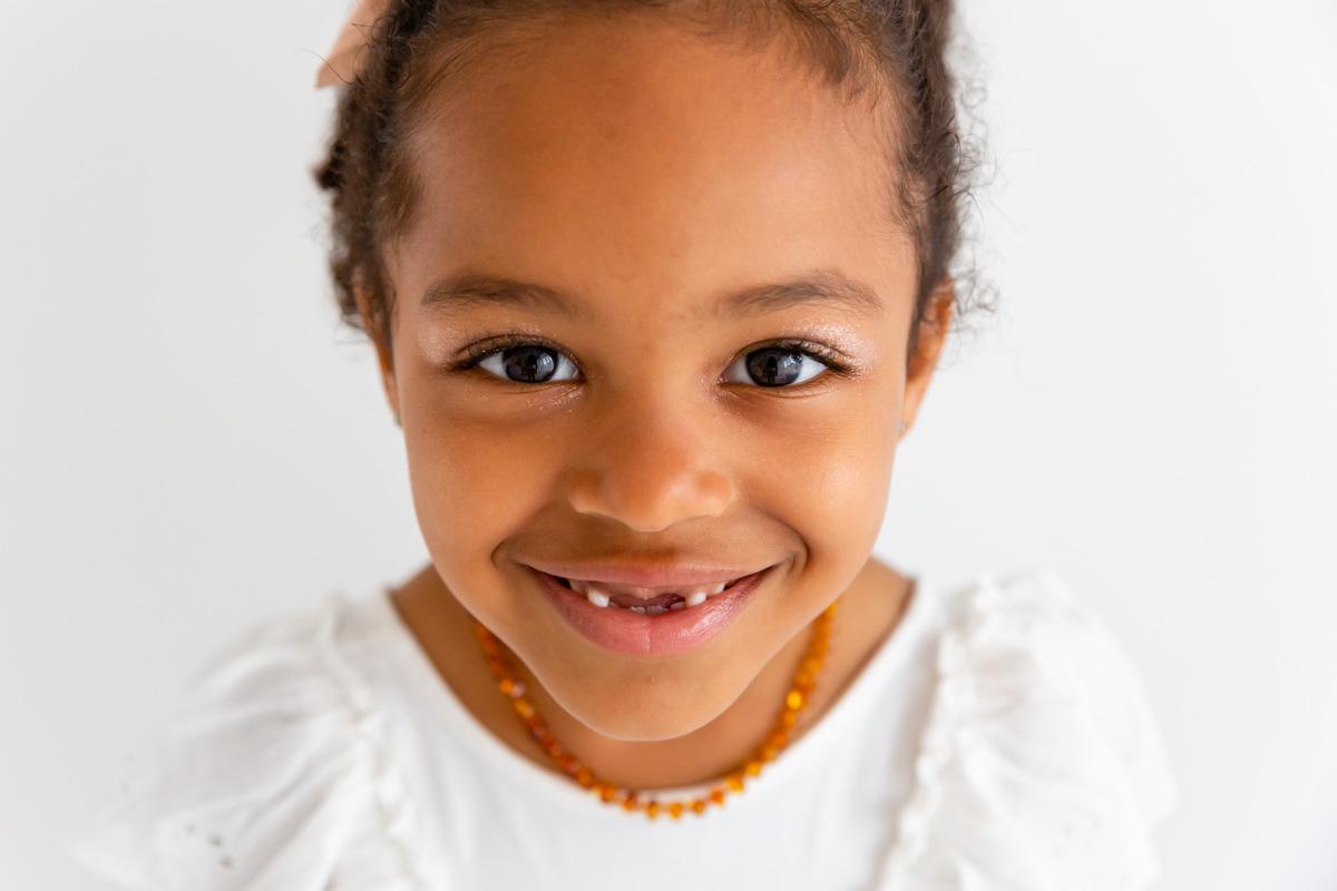 portrait de petite fille à Metz